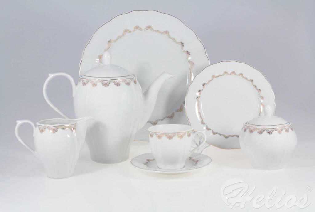 af86ecbc5e466 Lubiana Garnitur do kawy dla 12 osób / 40 części - 6926 MARIA Girlanda -  zdjęcie ...