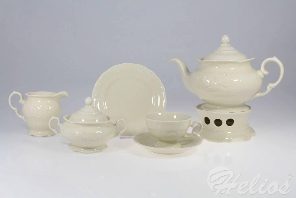 c6d00a2b79b11 Kristoff Garnitur do herbaty dla 6 osób - FRYDERYKA Krem - zdjęcie główne  ...
